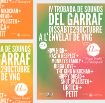 Cartel Trobada de Sounds. A Design project by Denis Zacaryas - 08-05-2012