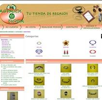Tienda de la Asociación ASPADEX. Un proyecto de Diseño, Desarrollo de software, Fotografía e Informática de Oscar M. Rodríguez Collazo - 12-05-2012