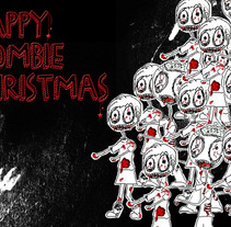 Nadala 2011 - Zombie. Un proyecto de Diseño de Anna Mateu         - 14.05.2012