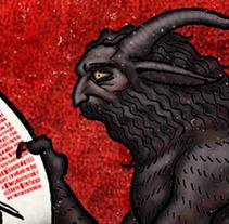 Aquelarre. Un proyecto de Diseño e Ilustración de Jaime García Mendoza - 20-05-2012