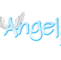 Angel: Logotipo y carteles para Chica Mala. A Design, Illustration, and Advertising project by M. Esther  Sanz         - 22.05.2012
