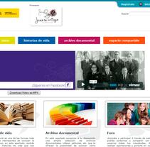 """Memoria Histórica """"Fundación Juan de los Toyos"""". Un proyecto de Diseño y Desarrollo de software de Jose Lorenzo Espeso         - 24.05.2012"""