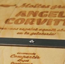 Placa conmemorativa | Angelo Corvitto. A Design, Advertising, and Photograph project by Zoo Studio         - 01.06.2012