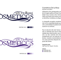 Logotipo Cosméticos DLR. A Design project by Jose Parcero Míguez         - 06.06.2012