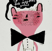 saquen sus mejores galas. A Design&Illustration project by Cinta Arribas - Jun 10 2012 04:59 PM