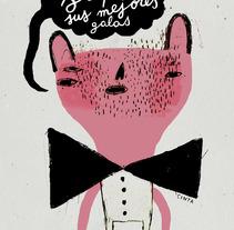 saquen sus mejores galas. Un proyecto de Diseño e Ilustración de Cinta Arribas - Domingo, 10 de junio de 2012 16:59:19 +0200