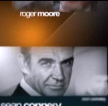 James Bond - 50 años de Historia. A Design, Illustration, Motion Graphics, Film, Video, and TV project by Jorge García Fernández         - 06.12.2012