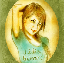 Lidia guevara. A Illustration project by Kirsten Gómez - 12-06-2012