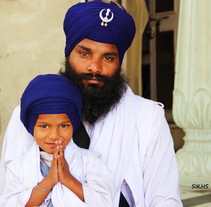 Sikhs by Yirmi Dört. Un proyecto de Fotografía de Yirmi  Dört - 19-06-2012