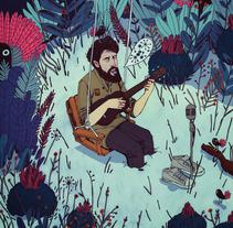 Angel Stanich (CD). A Illustration, Design, Advertising, Music, and Audio project by jon  juarez gaztelu - Nov 29 2013 12:00 AM