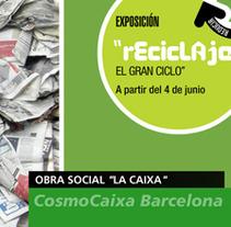 Publicidad en Lugar de Venta 'La Caixa'. Un proyecto de Cine, vídeo y televisión de Carme Carrillo Cubero         - 03.07.2012