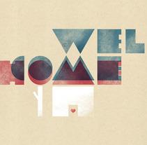 Carteles tipográficos. Un proyecto de Diseño e Ilustración de Sara Olmos - 05-07-2012