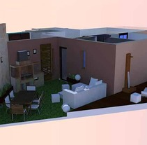 corte render apartamento. A 3D project by Josefa Lopez Guerrero - Jul 17 2012 01:11 AM