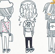 Back to School T-shirts. A Illustration, and UI / UX project by Carolina Massumoto         - 17.07.2012