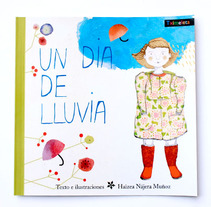 Un día de lluvia. Un proyecto de Ilustración de Haizea Nájera - 23-07-2012