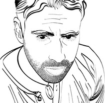Autoretrato Vectorial. A Design&Illustration project by Alejandro Rodríguez Fernández         - 26.07.2012