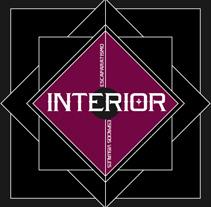 INTERIOR | logotipo + tarjetas. Un proyecto de Diseño, Ilustración y Publicidad de alejandro escrich - 27-07-2012
