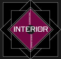 INTERIOR | logotipo + tarjetas. A Design, Illustration, and Advertising project by alejandro escrich         - 27.07.2012