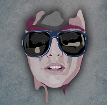 Rostro. A Illustration project by Ivan Rivera         - 30.07.2012