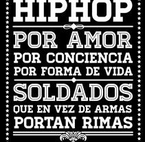 HIPHOP algo de tipografía y ornamentación. A Design project by José Luis Castillo         - 02.08.2012