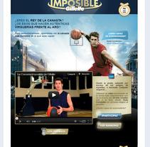 Canasta Imposible de Gillette. Un proyecto de Desarrollo de software y Publicidad de Javier Fernández Molina - Miércoles, 15 de agosto de 2012 10:49:17 +0200