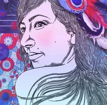 Tocados, texturas, encajes.. A Illustration project by Carmen Sánchez         - 17.08.2012