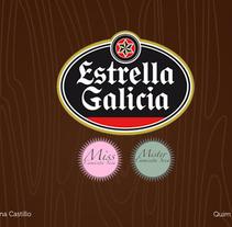 Miss Camiseta Seca. Un proyecto de Diseño, Ilustración y Publicidad de Adriana Castillo García         - 23.08.2012