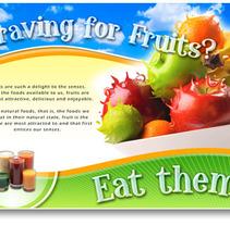 Crazy fruit. Um projeto de Design, Ilustração e Fotografia de Ineshi  - 07-09-2012
