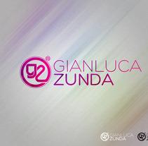 Logotipo Gianluca Zunda. A Design project by Jhonatan Andrés González Ordoñez         - 18.09.2012