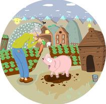 Ilustración infantil. Um projeto de Design e Ilustração de David  Ibernia Etayo         - 25.09.2012