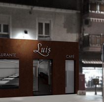 RESTAURANTE LUIS. A Design, Installations, and 3D project by Diseño Interior - 26-09-2012
