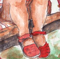 watercolor 2012. A Illustration project by Sonia García         - 28.09.2012