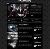 Diseño Web Gutembergers. A Design, and Software Development project by Daniel Vergara         - 07.10.2012