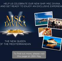 MSC Cruceros Facebook contest. A Design project by Jessica Alexandra Bustamante Fonseca - 11-10-2012