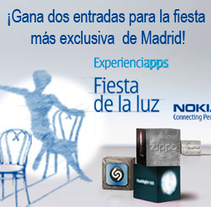 Banners Experienciapps Nokia. A Design, and Advertising project by Jessica Alexandra Bustamante Fonseca         - 11.10.2012