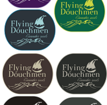 Logo Flying Douchmen. A Design project by Tzvetelina Spaasova         - 16.10.2012