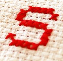 Alphabet Cross Stitch. Um projeto de  de Mar Domene         - 17.10.2012