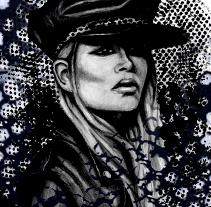 Femme. A Illustration project by Natalia Vera          - 24.10.2012