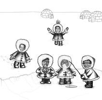 North Pole. Um projeto de Design e Ilustração de Aránzazu  García Martín - 13-11-2012