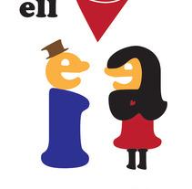 ell&ella. A Design&Illustration project by Merce Bergada         - 17.11.2012