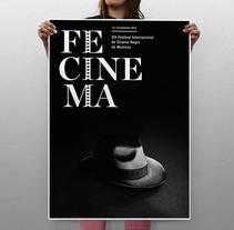propuesta cartell fecinema Manresa. Un proyecto de Diseño de Tomás Castro - 20-11-2012