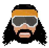 Wrestling Superstars pixel-portraits. Un proyecto de Ilustración, Cine, vídeo y televisión de Tom Major         - 26.12.2012