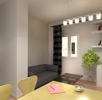 interior vivienda calle padilla. A 3D project by israel colino - 28-12-2012