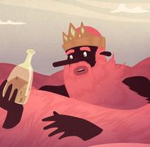 barbaroja. Um projeto de Design e Ilustração de marc marín         - 10.01.2013