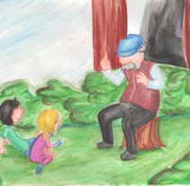 Ilustración infantil. A Illustration project by Carlota Rodriguez Lloret         - 15.01.2013