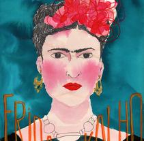 Frida Kahlo. Un proyecto de Diseño, Ilustración y Publicidad de Laia Jou - 29-01-2013