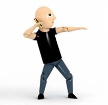 Víctor, Figura de Acción. Un proyecto de Diseño, Ilustración, Publicidad y 3D de Víctor Ballester Granell         - 03.02.2013