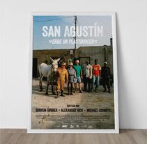 Poster San Agustin. A Design project by Mar  López         - 08.02.2013