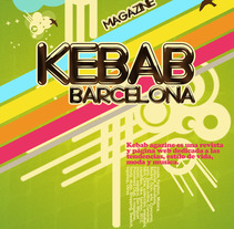 KEBAB MAGAZINE. A Design project by Ricardo Sanchez - 14-02-2013