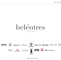 Beléntres Showroom. Um projeto de Design e Informática de Nerea Cordero         - 19.02.2013